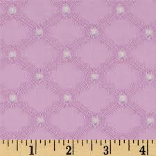 michael miller lattice cotton eyelet peony discount designer