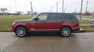 burgundy range rover black rims skinzwraps inc on twitter