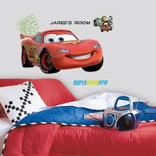 wall decals of cars color the walls of your house mcqueen personalized wall decals disney cars stickers decor