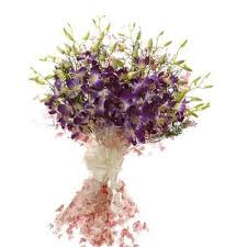 flowers gift buy gift blue orchids bunch for special one flower online best