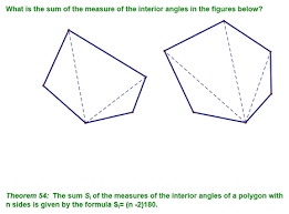 Formula For Interior Angles Of A Polygon Chapter 7 Class Notes