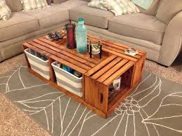 Living Room Table Design Wooden Wonderful Best 25 Crate Coffee Tables Ideas On Pinterest