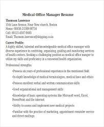 medical manager resume sample resume for medical representative