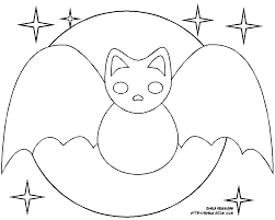 bat pictures to color for kids u2013 fun for christmas