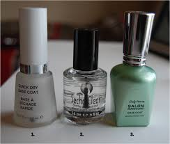 just nail in u0027 the best base coats