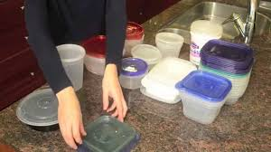 how to organize plastic food storage containers youtube