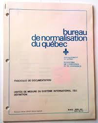 bureau du commerce international fascicule de documentation unités de mesure du système