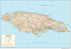 Etsy Maps Jamaica Maps Perrycastañeda Map Collection Ut Library Online