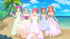 wedding dress anime anime wedding dress up android apps on play