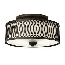 rustic ceiling lights uk rustic design semi flush ceiling light in bronze with inner shade