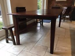 Refectory Dining Tables Solid Oak Refectory Dining Table 220cm X 100cm Ebay