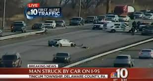 del firefighter injured after being struck on i 95 ny daily news