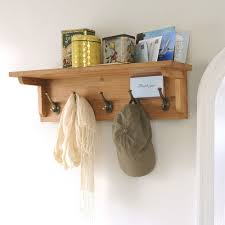 montague oak 5 hook coat rack m518 with free delivery the