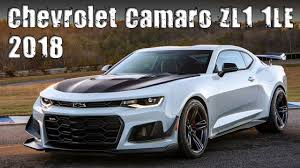 camaro zl1 cost 2018 chevrolet camaro zl1 1le prices specs and review