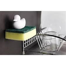 cuisine accessoire porte éponge canard jaune accessoire de cuisine ac deco