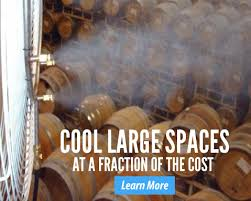 how to cool a warehouse with fans patio misting systems and mist fans misting pros