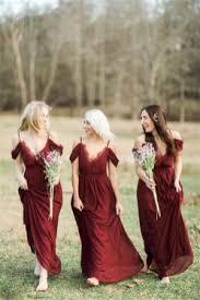 bridesmaid dress ideas 66 breathtaking burgundy and marsala bridesmaid dresses ideas