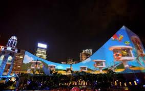 3d light show hk pulse 3d light show gives cultural centre a summer look