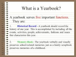 a yearbook yearbook ppt online