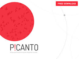 Picanto Ppt Template Free Download By Hislide Io Dribbble Ppt Free