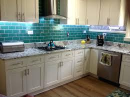 home depot backsplash glass tile granite black kitchen cabinet