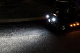 led golf cart lights w grommet 3 4 side clearance light
