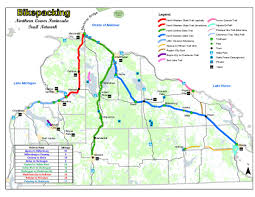 Chelsea Michigan Map by Dnr Biking Trails Offer Many Options To Get Outside And Explore