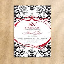 the perfect 60th birthday party invitation ideas u2014 all invitations
