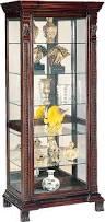 curio cabinet rustic curio cabinets homestead pine cabinet