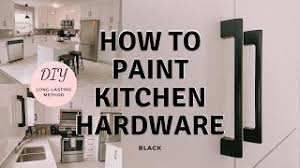 can cabinet handles be painted how to spray paint cabinet hardware black