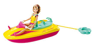 amazon black friday specials for toddlers ride on toys amazon com barbie sisters jet ski and stacie doll set toys