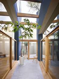 Indoor Plant Design by Exterior Design Indoor Plant And Glass Roof And Glass Wall