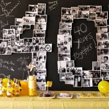 anniversary ideas for parents s 40th party stuff anniversaries