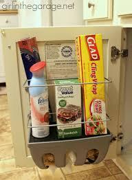 Kitchen Cabinet Door Organizer Fascinating 50 Kitchen Cabinet Door Organizers Decorating