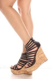 Comfortable Wedge Pumps Casual And Comfortable Black Wedge Shoes Fashion Shoes For Women