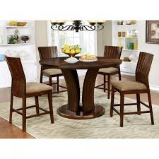 Dining Room Furniture Montreal Cm3711rpt Montreal Ii Counter Ht Round Table Furniture Of America