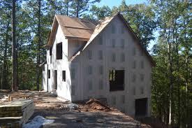 framing near completion porches u201con deck u201d durkins build a house