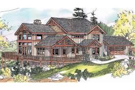 front sloping lot house plans 8333
