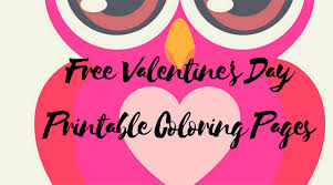 valentine u0027s printable coloring pages