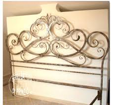 used king size headboards metal headboard and footboard queen wrought iron ideas king size