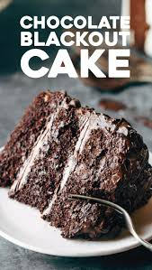 blackout chocolate cake recipe chocolate cakes chocolate