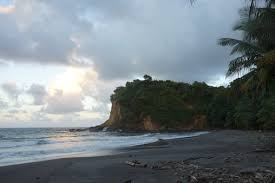 the top caribbean black sand beaches