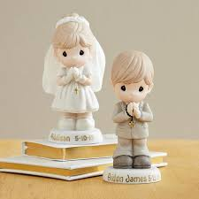 boys communion gifts personalized precious moments figurines at personal creations
