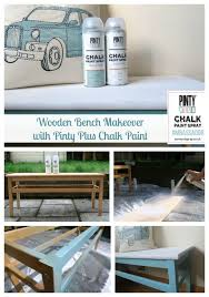 bench chalk paint bench wooden bench makeover pinty plus chalk
