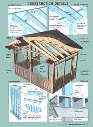 screen porch building plans how to build a screened porch handyman s screen 9 in patio family