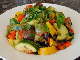 Cold Dinner Meatless Monday Ratatouille U0026 Cold Mushroom Salad Catharsis