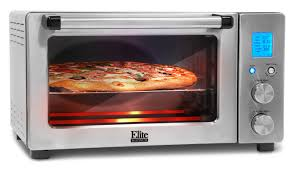 Toaster Oven With Toaster Elite By Maxi Matic 6 Cu Ft Elite Platinum Smart Toaster Oven