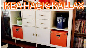 Kallax Filing Cabinet Ikea Kallax Hack Easy Diy