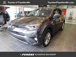 toyota awd 2018 new toyota rav4 hybrid limited awd at toyota of fayetteville