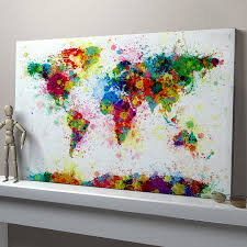 Canvas Painting For Home Decoration by Decor Home Decorating With Painting On Canvas And Interior Paint